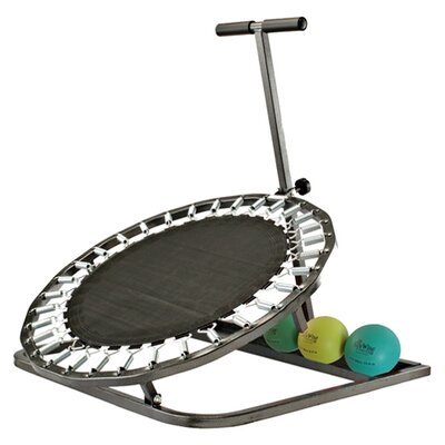 Eco Wise Fitness Medicine Physical Therapy Ball Rebounder in Black