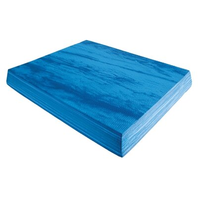Eco Wise Fitness Deluxe Balance Pad in Marble Blue