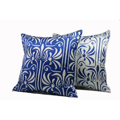 Plush Living Florence Silk Pillow
