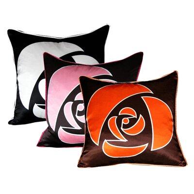 Plush Living Nookpillow Rose Silk Pillow Cover