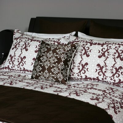 Plush Living Montreal 3 Piece Duvet Set
