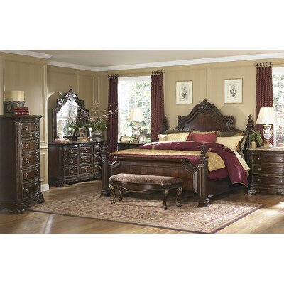A.R.T. Grand European Estate Panel Bedroom Collection