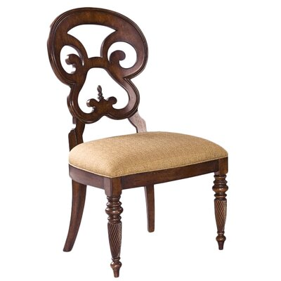 British Heritage Butterfly Back Side Chair