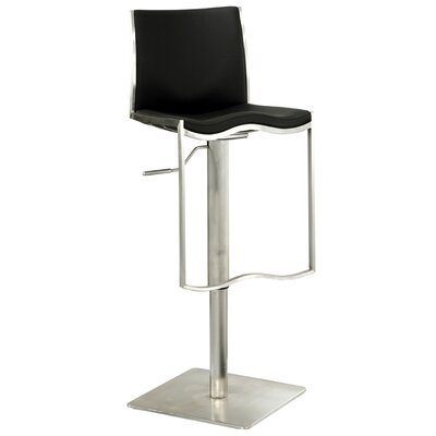 Chintaly Imports Adjustable Stool in Black