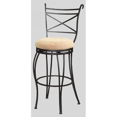 "Chintaly Imports 26"" Swivel Memory Return Counter Stool"