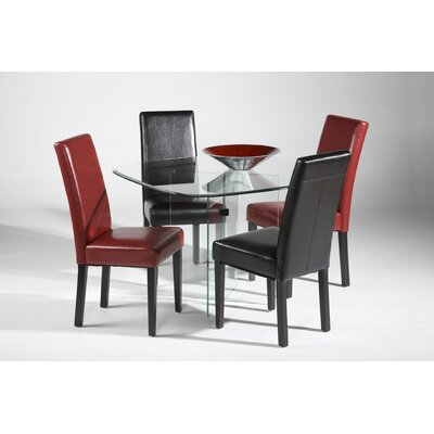 Chintaly X-Base 5 Piece Dining Set
