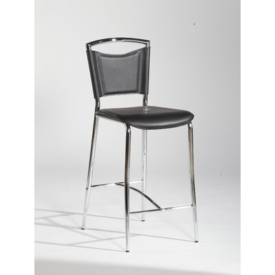 Chintaly Imports Gwen Counter Stool in Black