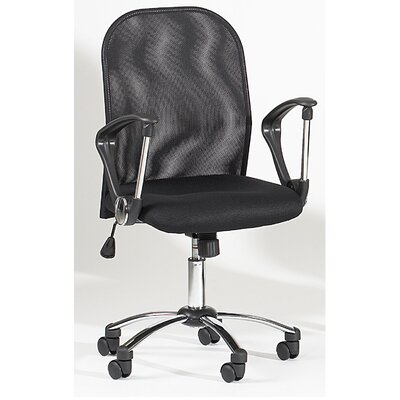 Chintaly Imports Mid-Back Mesh Office Chair Swivel