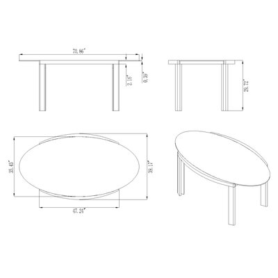 Chintaly Imports Lafayette Dining Table