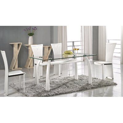 Chintaly Ramona 5 Piece Dining Set