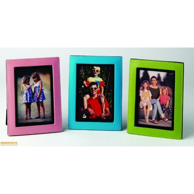Budd Leather Lizard Print Picture Frame