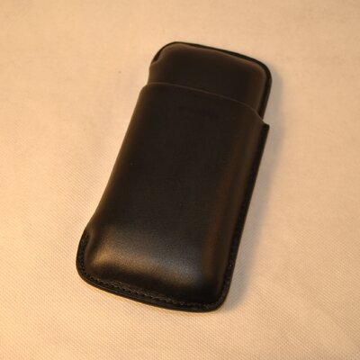 Budd Leather 3 Cigar Leather Cigar Case