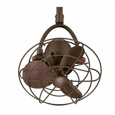 "Matthews Fan Company Diane 16"" Single Oscillating Directional Ceiling Fan"