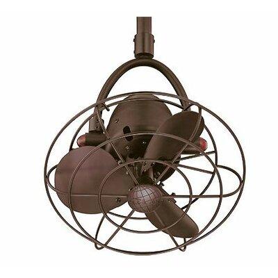 """Matthews Fan Company Diane 16"""" Single Oscillating Directional Ceiling Fan"""