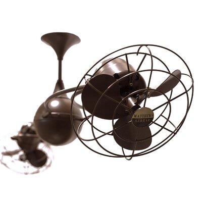 """Matthews Fan Company 53"""" Italo Ventania 3 Metal Blade Ceiling Fan"""