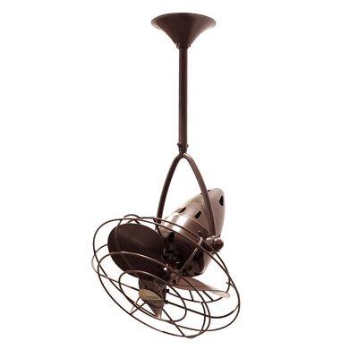 Matthews Fan Company Jarold 3 Metal Blade Ceiling Fan
