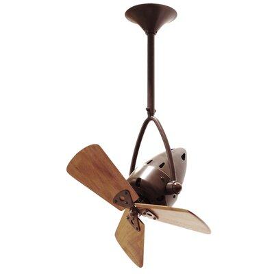 Matthews Fan Company Jarold 3 Wooden Blade Ceiling Fan