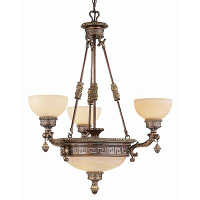 TransGlobe Lighting Mediterranean 6 Light Chandelier