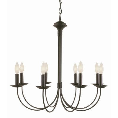 New Century 8 Light Chandelier