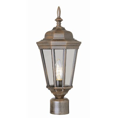 "TransGlobe Lighting Outdoor 20.75""  Post Lantern"