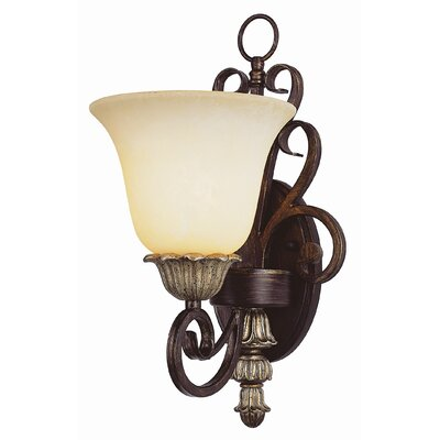 TransGlobe Lighting Sights of Seville1 Light Wall Sconce