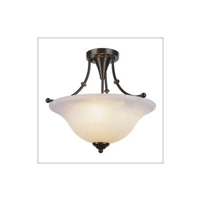 TransGlobe Lighting Outdoor Semi Flush Mount