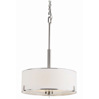 TransGlobe Lighting Cadence 3 Light Drum Pendant