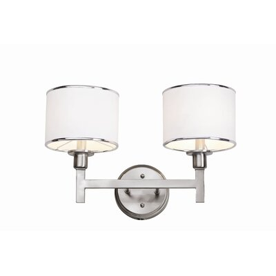 TransGlobe Lighting Cadence 2 Light Bath Vanity Light