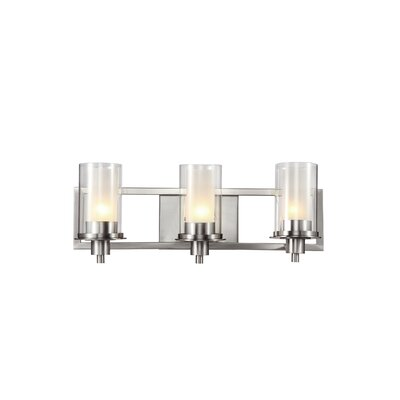 TransGlobe Lighting 3 Light Bath Vanity Light