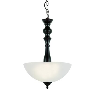 TransGlobe Lighting 2 Light Inverted Pendant