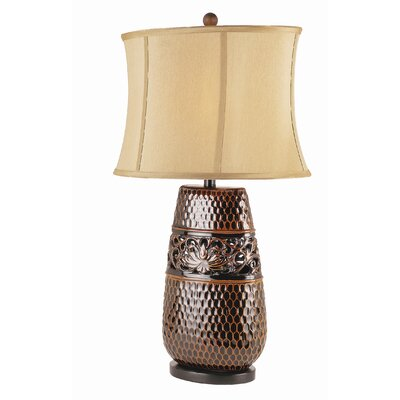 TransGlobe Lighting Fleur Di Lis Table Lamp