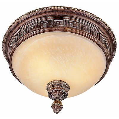 TransGlobe Lighting Mediterranean Flush Mount