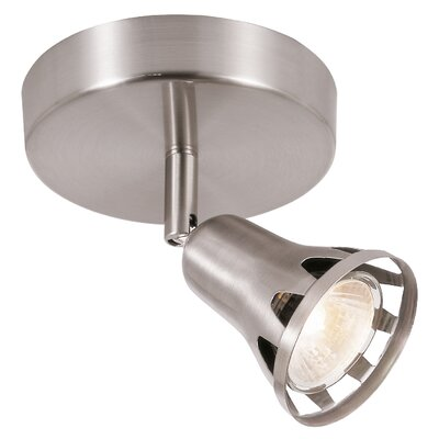 1 Light Semi Flush Mount Track Light