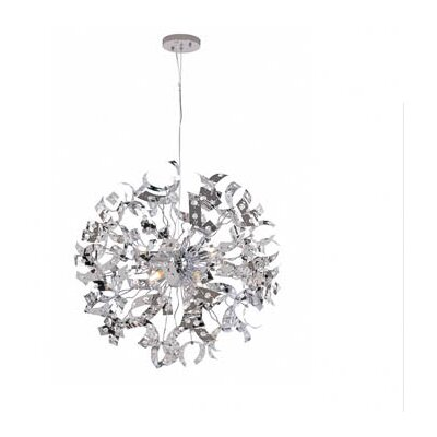 TransGlobe Lighting 8 Light Large Pendant