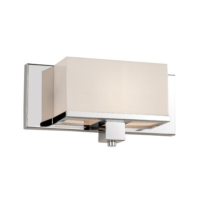 TransGlobe Lighting New Cube 1 Light Wall Sconce