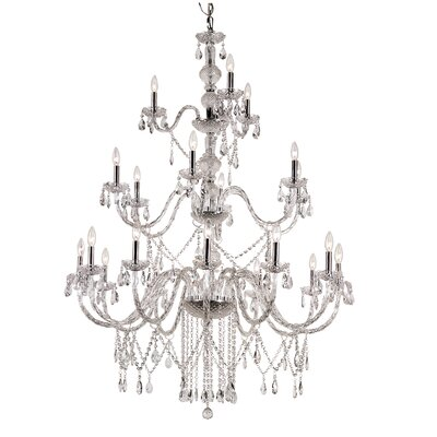 TransGlobe Lighting 21 Light Chandelier