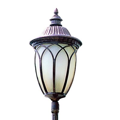 "TransGlobe Lighting Outdoor 3 Light 12.75"" Post Lantern Set"
