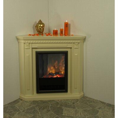 albero m bel elektro eck kamine nepal in cremewei. Black Bedroom Furniture Sets. Home Design Ideas