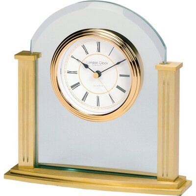 London Clock Company Mantle Clock in Gold