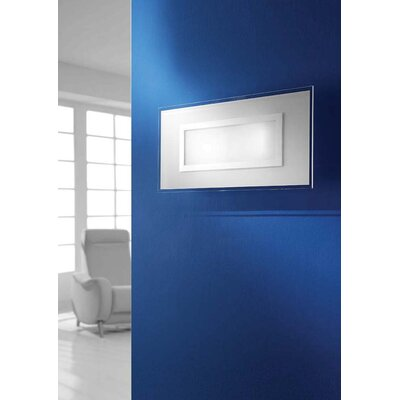 Gamma Delta Group Ring Rectangular Ceiling / Wall Lamp