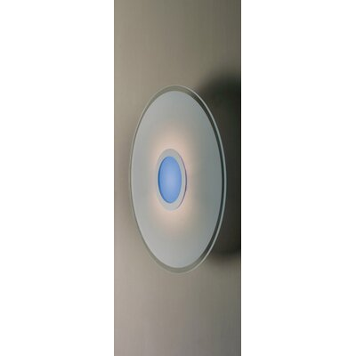 Gamma Delta Group Coloring Blue Round Ceiling / Wall Lamp