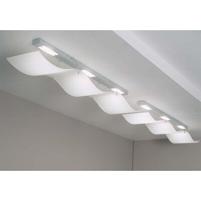 Gamma Delta Group Halowing Ceiling or Wall Lamp