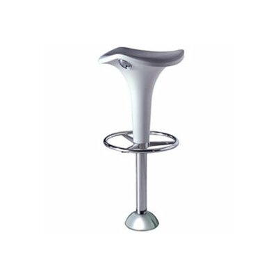 Zanzibar Bar Stool with Gas Lift Adjustable Height and Floor Fixing Joint