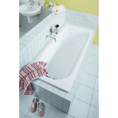 "Kaldewei Saniform Plus 67"" x 28"" Bathtub"