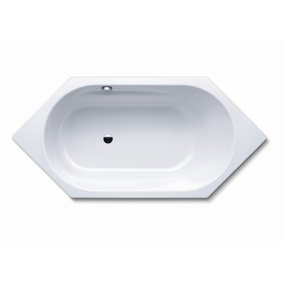 "Kaldewei Vaio 6 74.8"" x 35.4"" Bath Tub in White"