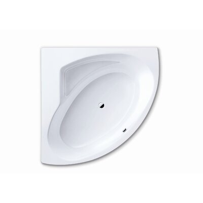 "Kaldewei Punta Duo 3 55"" x 55"" Bathtub with Polystyrene Support and Panel"