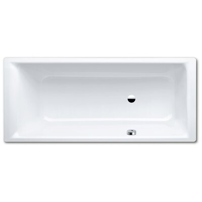 "Kaldewei Puro 67"" x 30"" Bathtub with Reversible Drain"
