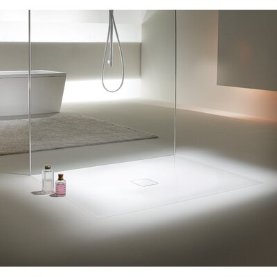 Kaldewei Cono-Flat Shower Base with Drain