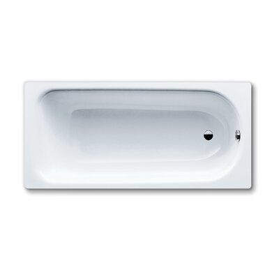 "Kaldewei Saniform Plus 71"" x 32"" Bathtub with Reversible Drain"