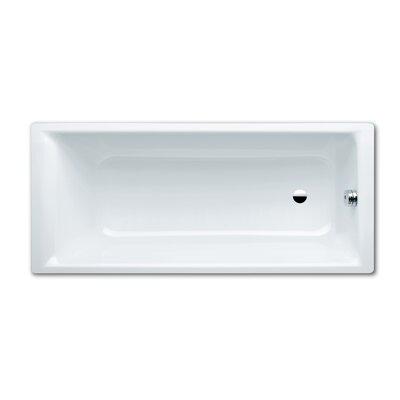 "Kaldewei Puro 63"" x 28"" Bathtub with Reversible Drain"